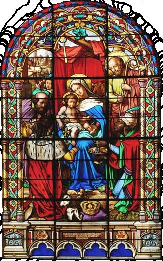 Vitrail Notre Dame de Bethléem